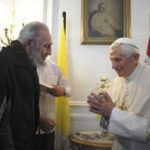 Fidel y Benedicto XVI