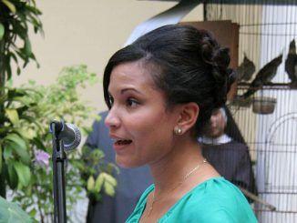 Palabras de la joven Rachel Susana Diez al Excelentísimo señor Juan Carlos Varela Rodríguez