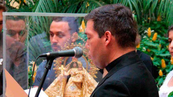 Palabras del P. Jorge Luis Pérez Soto al Excelentísimo Sr. Juan Carlos Varela, presidente de la República de Panamá, en su visita al Arzobispado de La Habana.