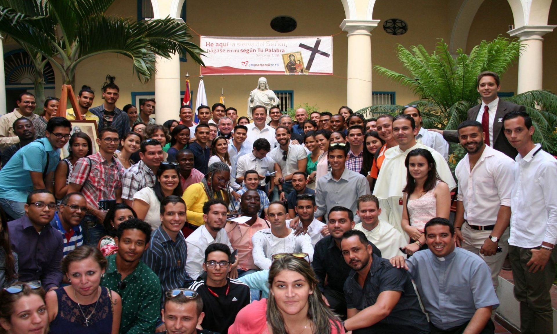 Sostiene presidente de Panamá encuentro con jóvenes católicos cubanos