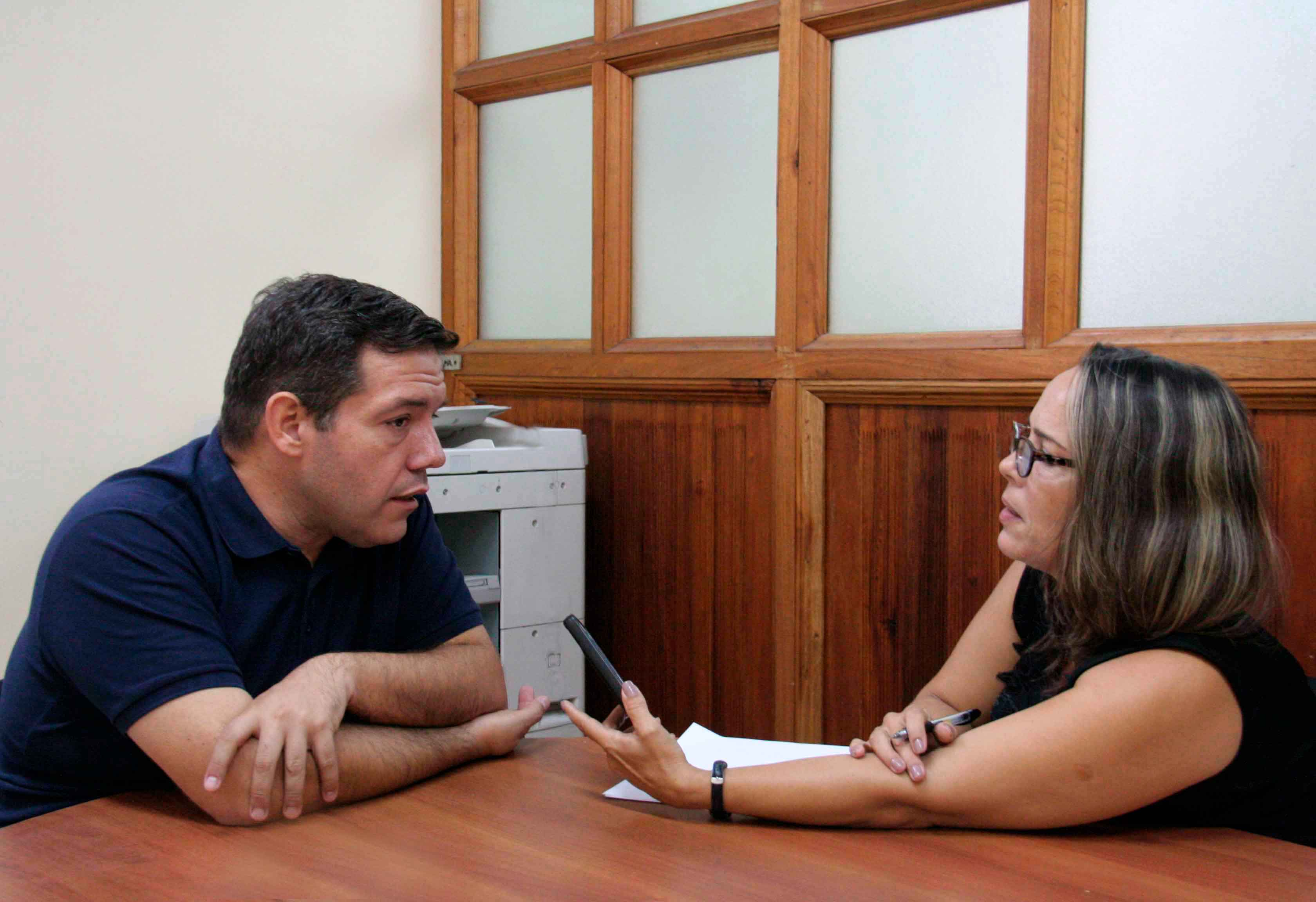 Entrevista de Yarelis Rico al P. Jorge Luis Pérez Soto