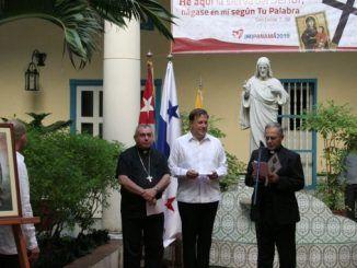 Presidente de Panamá visita el arzobispado de La Habana