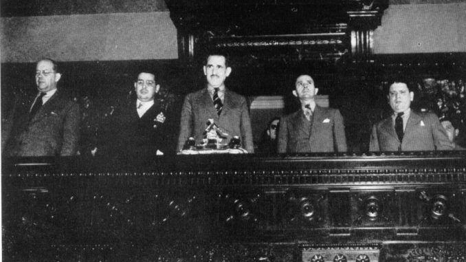 1ra Presidencia Asamblea Constituyente del 1940