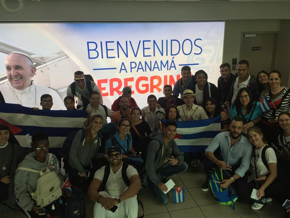 Llegada a Panamá-JMJ 2019