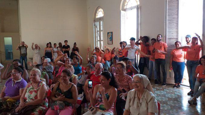 La celebración corroboró el ambiente familiar que caracteriza a ese singular proyecto educativo habanero.