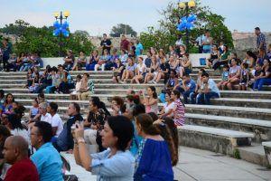 Clausura en el anfiteatro de La Habana