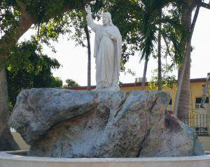 La Fuente del Agua Santa, en el Santuario Nacional de San Lázaro
