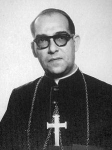 Monseñor José Maximino Domínguez Rodríguez.
