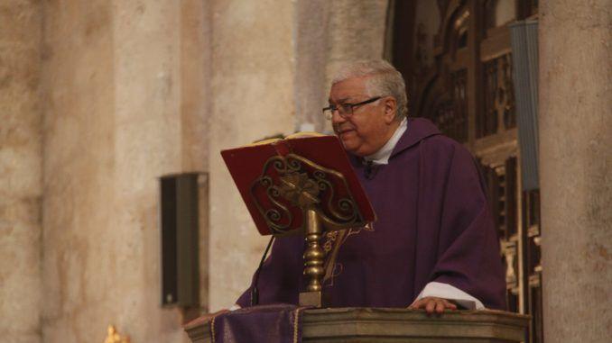 Homilía, Mons. Ramón Suárez Polcari, canciller de la Arquidiócesis