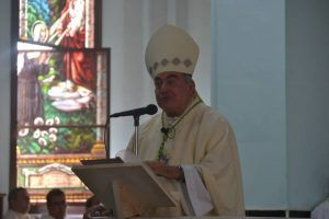 Mons. Juan de Dios dijo venir obediente a Dios en el servicio de acompañar a la Iglesia de Pinar del Río en el camino de la fe.