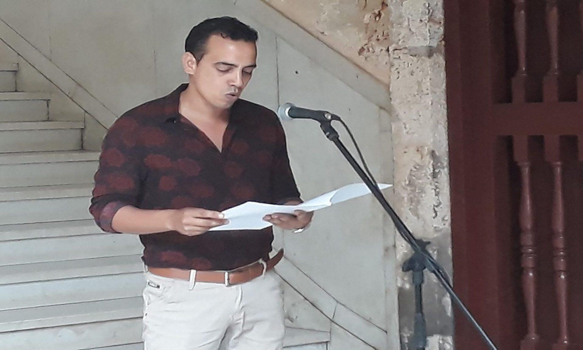 Palabras del jurado leidas por uno sus miembros, Daniel Céspedes Góngora.