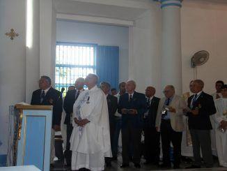 En la ceremonia participaron representantes de las Marinas de diversos países, entre ellos Cuba, Bolivia, Chile, Colombia, República Dominicana y España.