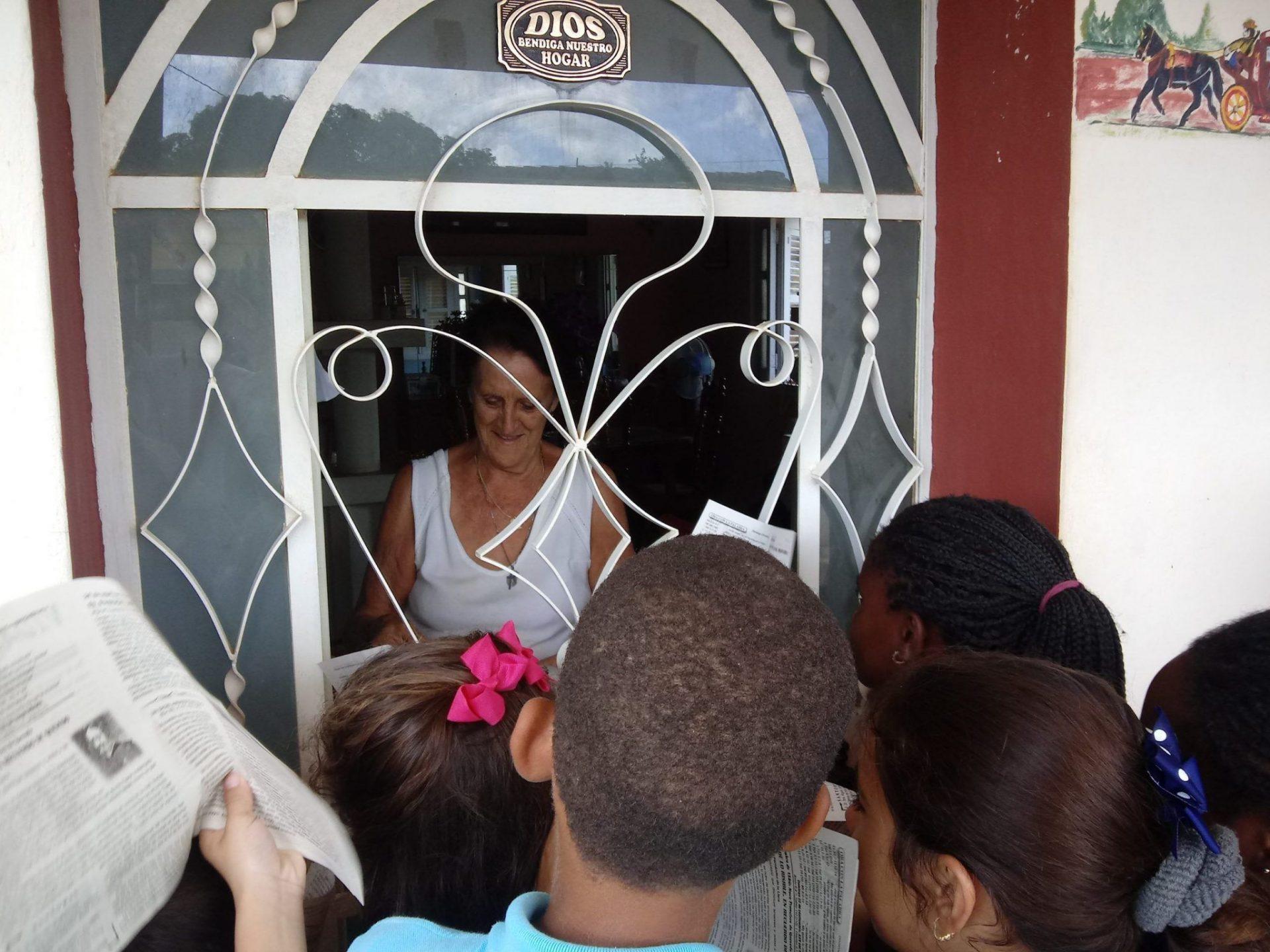 Misión en San Nicolás de Bari, Mayabeque.