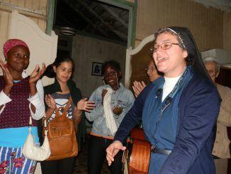 La Hermana Antonia Valverde Fernández (Hna. Toñi), asesora de Misiones e Infancia y Adolescencia Misionera en la Arquidiócesis