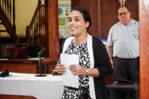 Yanais Barzagas Medina, directora de la institución