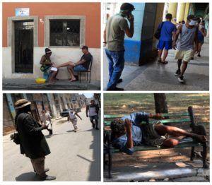En las calles de Centro Habana el panorama sobrepasa la imaginación