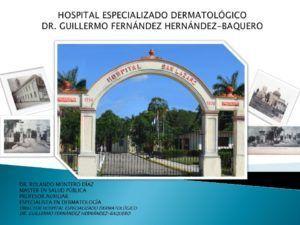 Hospital Dermatológico, uno de los proyectos al que ayuda el Santuario Nacional.