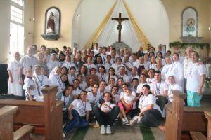 Integrantes de la Misión Internacional Cuba 2020.