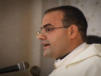 Diácono Junior Antonio Delgado Martínez.