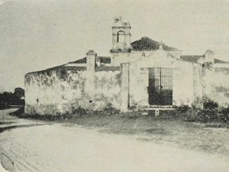 Imagen antigua de la Ermita de Potosí.