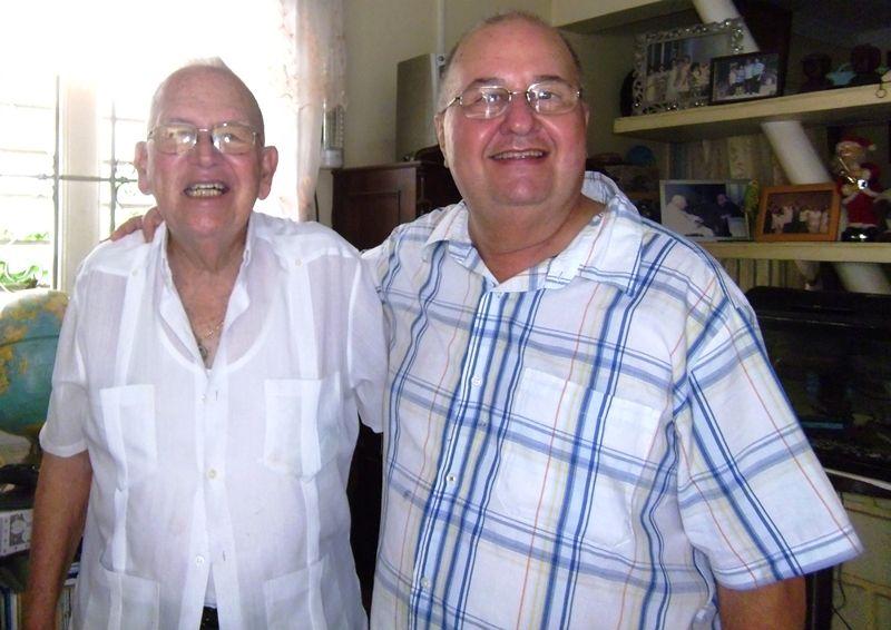 Mons. Siro junto a Mons. Antonio Rodríguez (padre Tony)