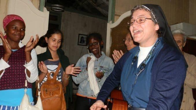 Mensaje que dirigió a la Iglesia cubana la hermana Toñi Valverde