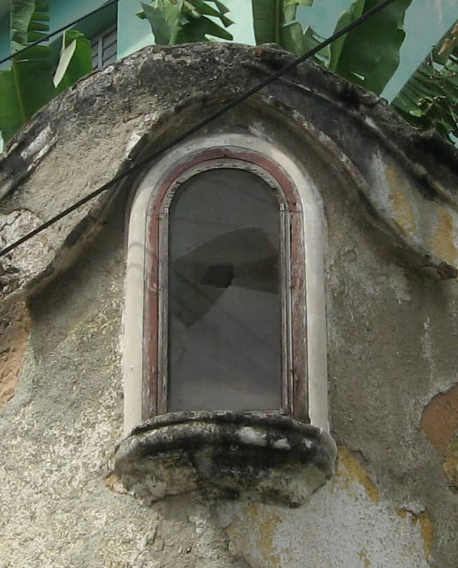 Hornacina de San Antonio de Padua.
