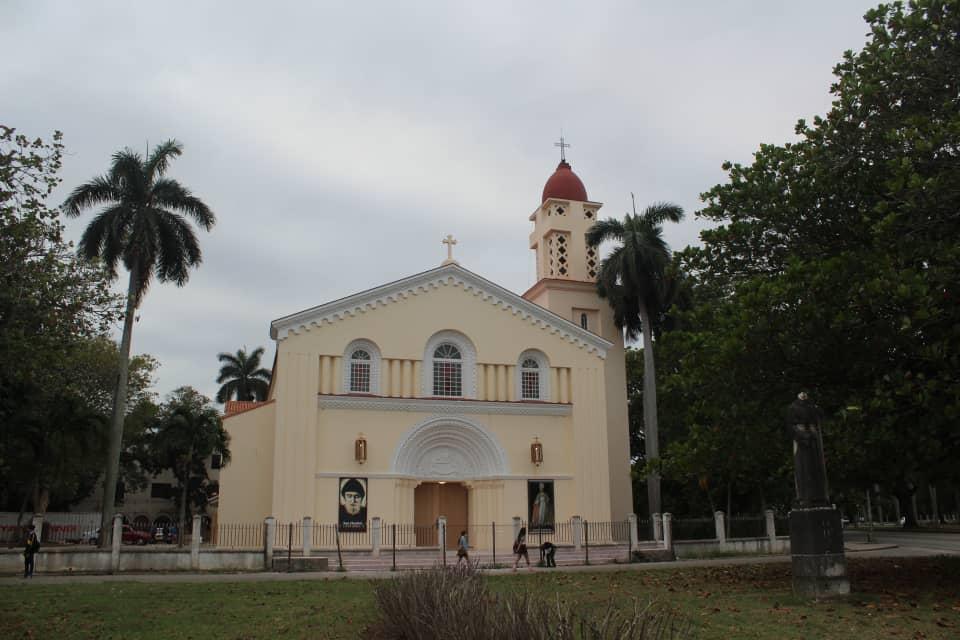 Capilla de la extinta Universidad de Santo Tomás de Villanueva, en el municipio de Playa