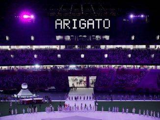 Ceremonia de clausura de la Juegos Olímpicos Tokio 2020.